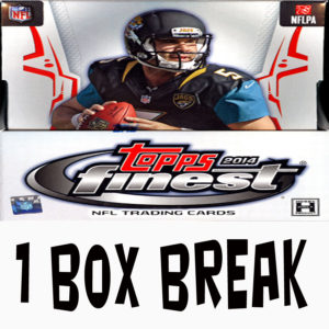 2014 Finest FB Single Box Break @ Live on mojo2