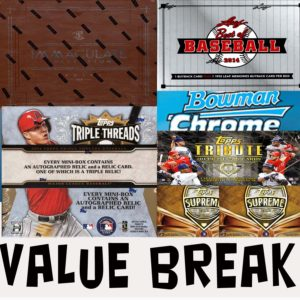 MLB 7 BOX VALUE BREAK #22