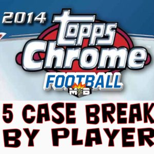 5 Case Break 14' Chrome NFL By Player @ mojo2