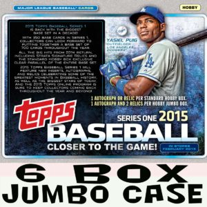 15' Series One MLB Jumbo Case #2