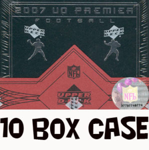 2007 UD Premier NFL Case #throwback @ mojo ohio