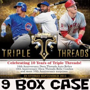 2015 Triple Threads MLB Case @ mojo ohio