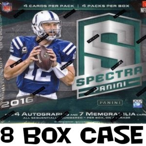 16' Spectra NFL 8 Box Case @ 88 Hits! MOJO OHIO