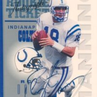 2016-Panini-Honors-Football-1998-Contenders-Rookie-Ticket-Autograph-Peyton-Manning
